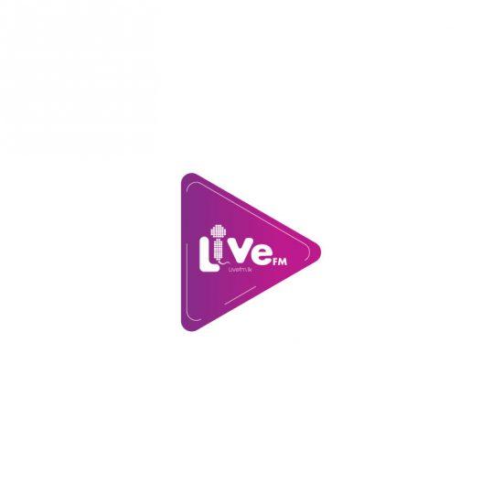 Livefm.lk Online Radio Logo Design