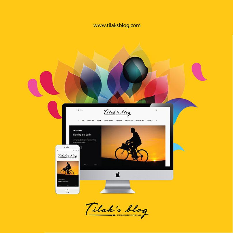 Tilaksblog-web-design